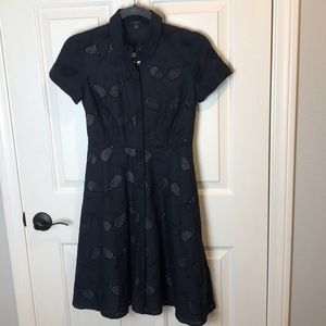 Ann Taylor Dress with Tennis Racket Cutouts